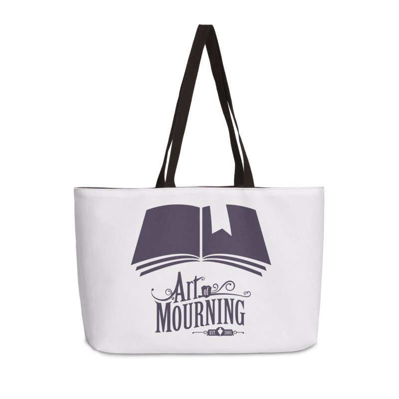 Art of Mourning 'Knowledge' Accessories Weekender Bag Bag by The Art of Mourning Shop