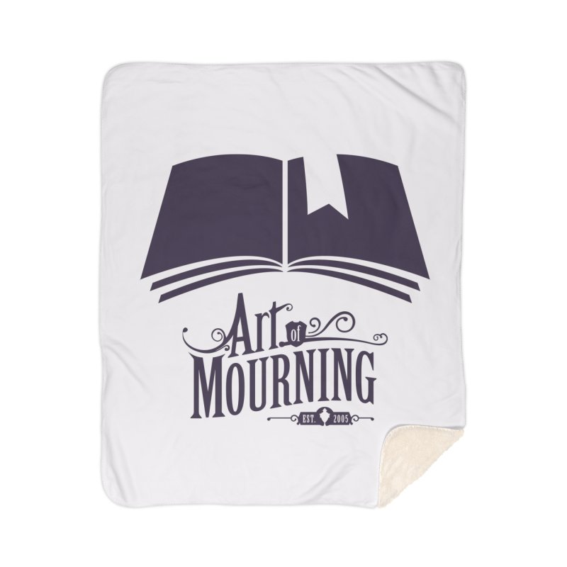 Art of Mourning 'Knowledge' Home Sherpa Blanket Blanket by The Art of Mourning Shop