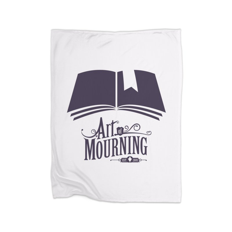 Art of Mourning 'Knowledge' Home Blanket by The Art of Mourning Shop