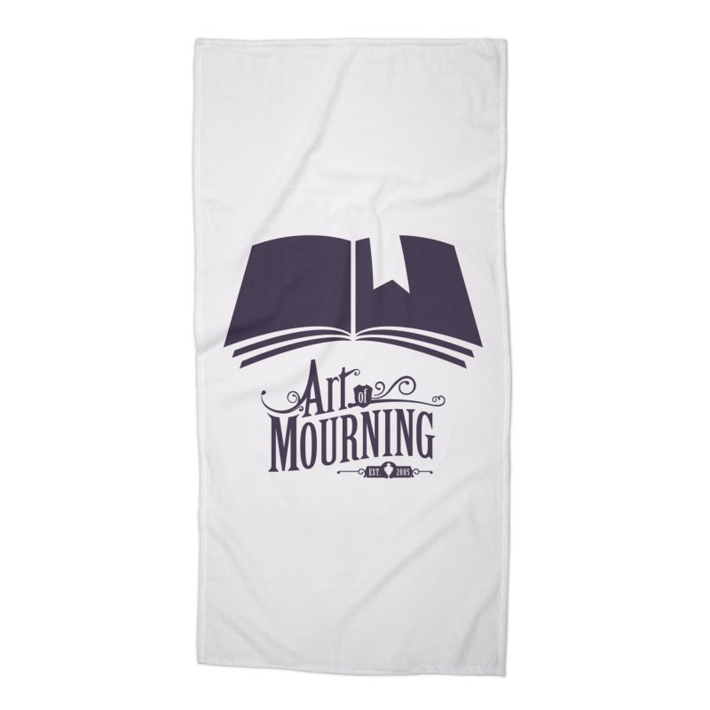 Art of Mourning 'Knowledge' Accessories Beach Towel by The Art of Mourning Shop