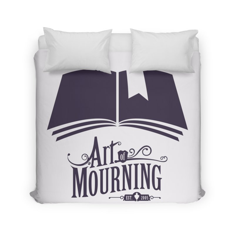 Art of Mourning 'Knowledge' Home Duvet by The Art of Mourning Shop