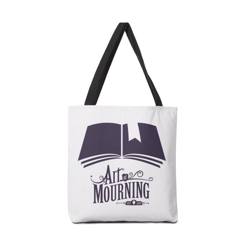 Art of Mourning 'Knowledge' Accessories Tote Bag Bag by The Art of Mourning Shop