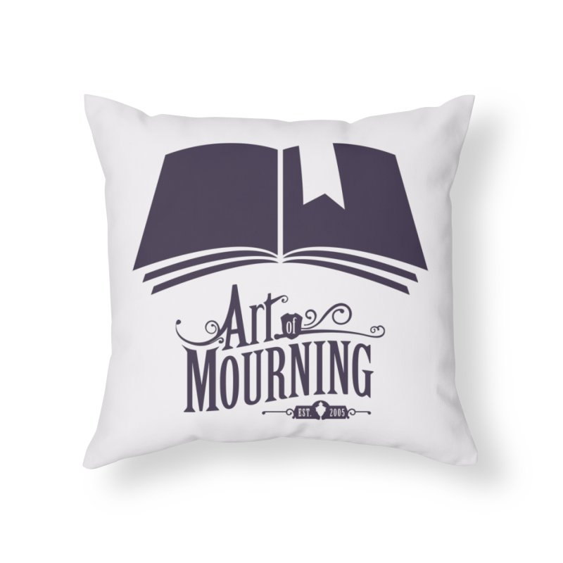 Art of Mourning 'Knowledge' Home Throw Pillow by The Art of Mourning Shop