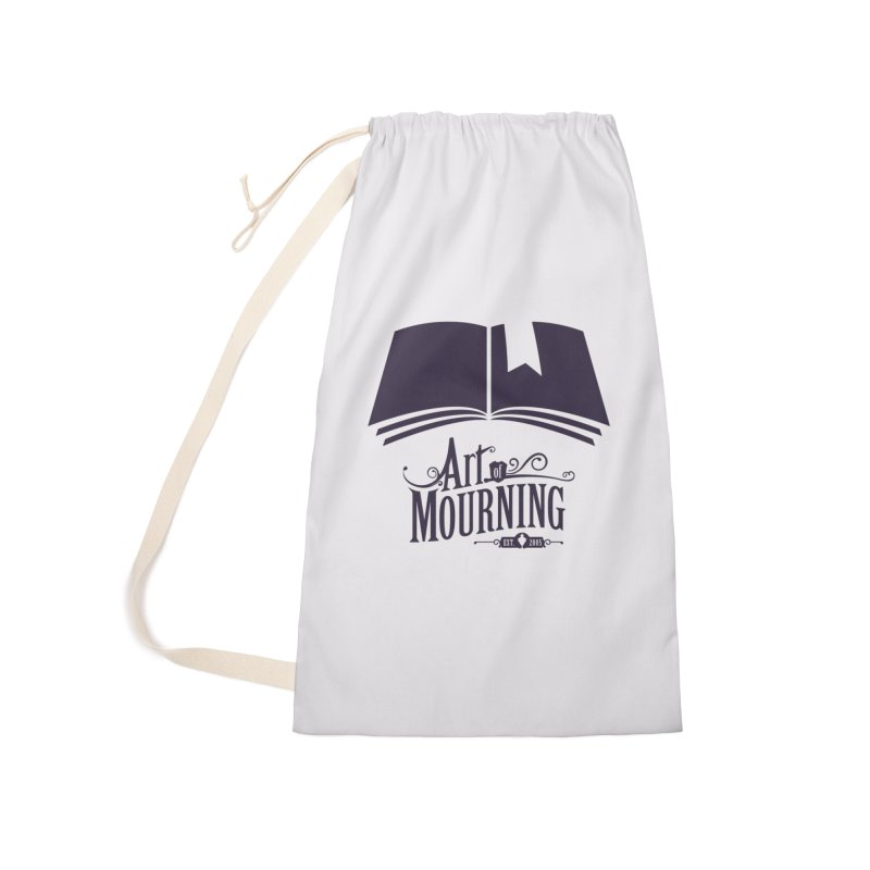 Art of Mourning 'Knowledge' Accessories Laundry Bag Bag by The Art of Mourning Shop