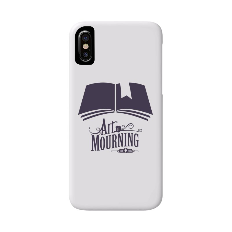 Art of Mourning 'Knowledge' Accessories Phone Case by The Art of Mourning Shop