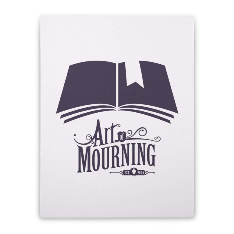 Art of Mourning 'Knowledge' Home Stretched Canvas by The Art of Mourning Shop