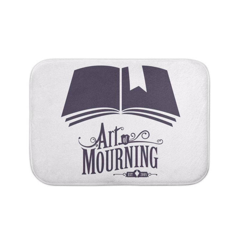 Art of Mourning 'Knowledge' Home Bath Mat by The Art of Mourning Shop