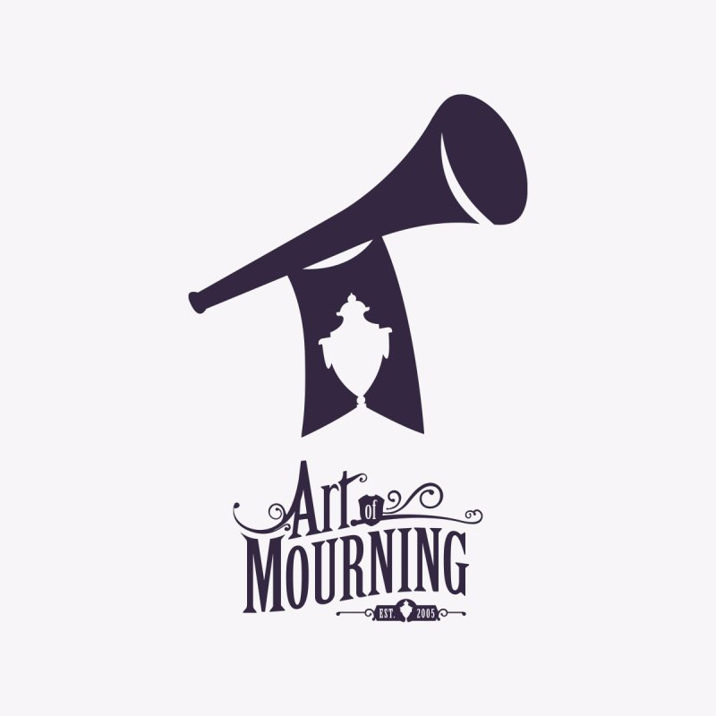 Art of Mourning 'Mourning Announcement' Kids Baby Zip-Up Hoody by The Art of Mourning Shop