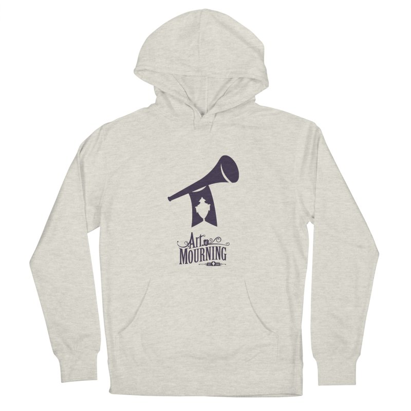 Art of Mourning 'Mourning Announcement' Women's French Terry Pullover Hoody by The Art of Mourning Shop