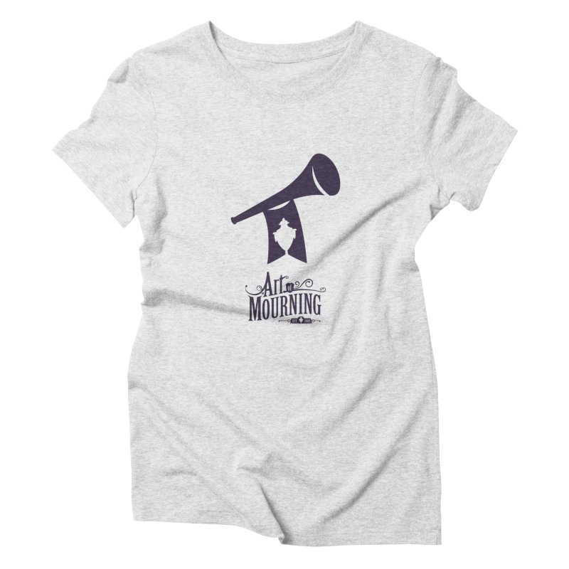 Art of Mourning 'Mourning Announcement' Women's T-Shirt by Art of Mourning Warehouse