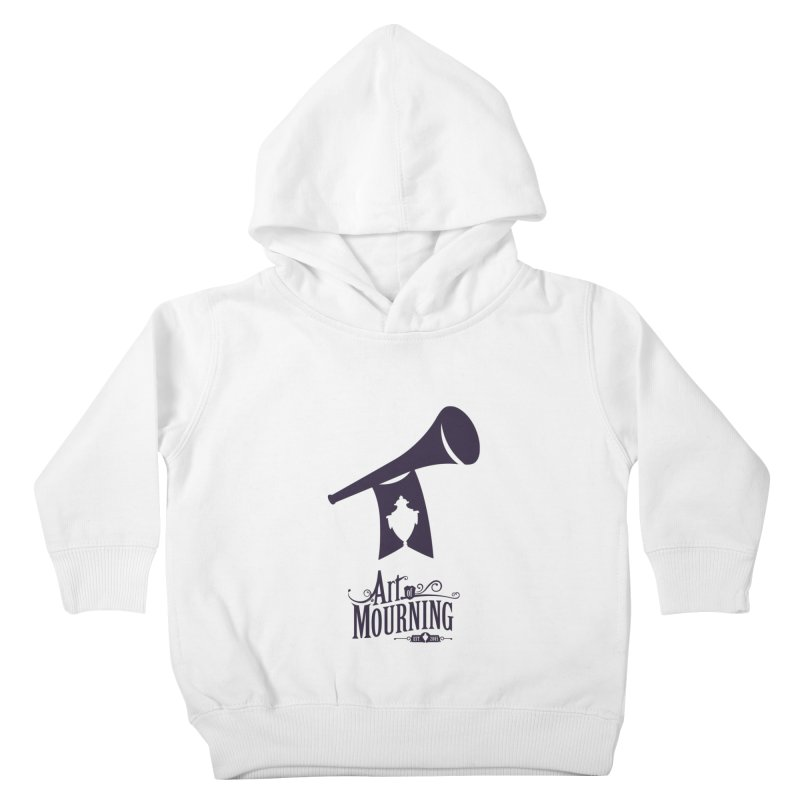 Art of Mourning 'Mourning Announcement' Kids Toddler Pullover Hoody by The Art of Mourning Shop