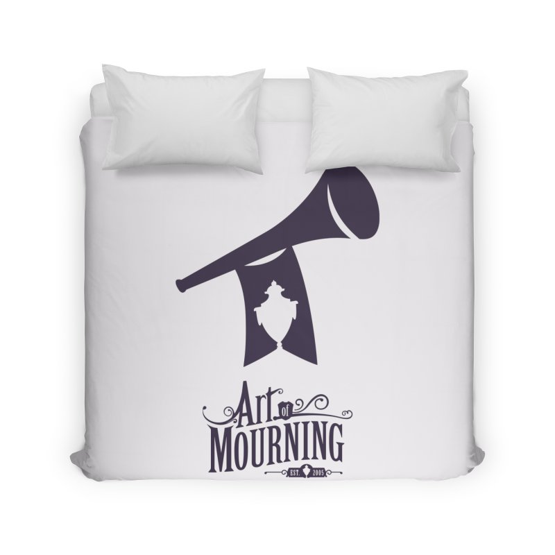 Art of Mourning 'Mourning Announcement' Home Duvet by The Art of Mourning Shop