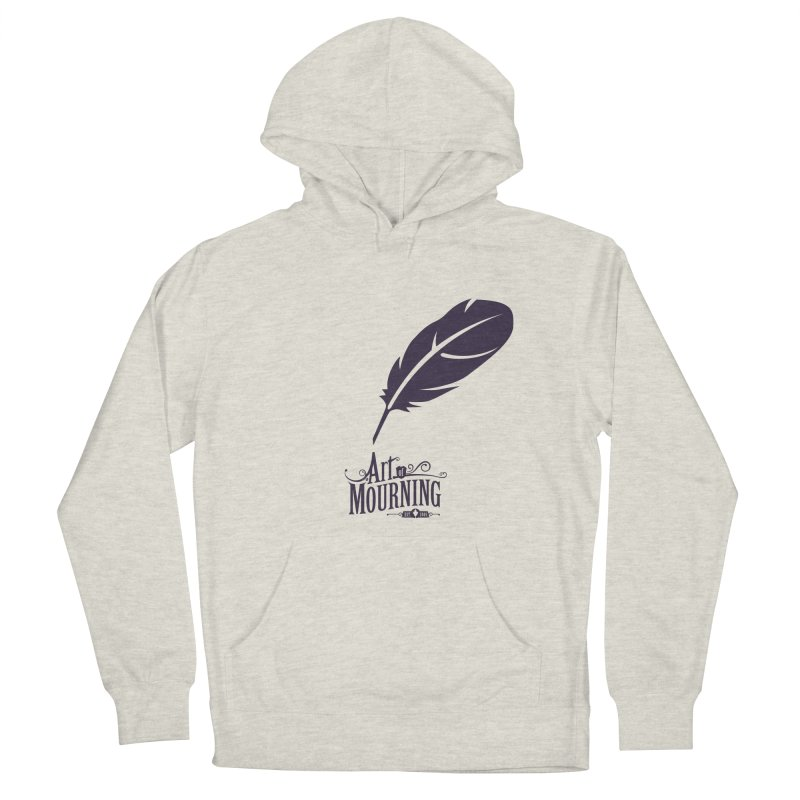 Art of Mourning 'Quill' Women's French Terry Pullover Hoody by The Art of Mourning Shop