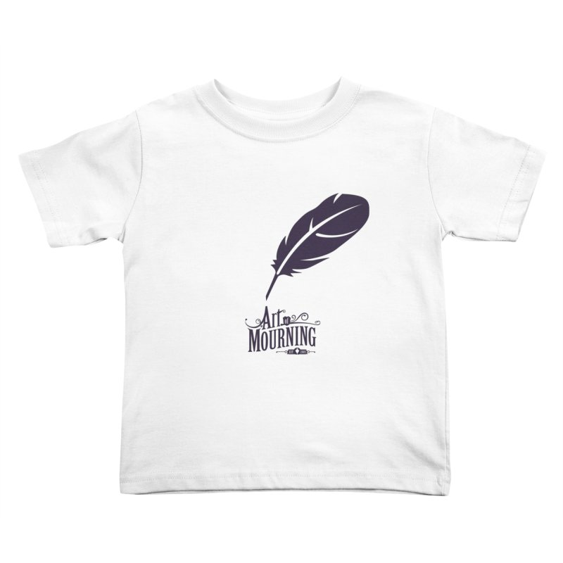 Art of Mourning 'Quill' Kids Toddler T-Shirt by The Art of Mourning Shop