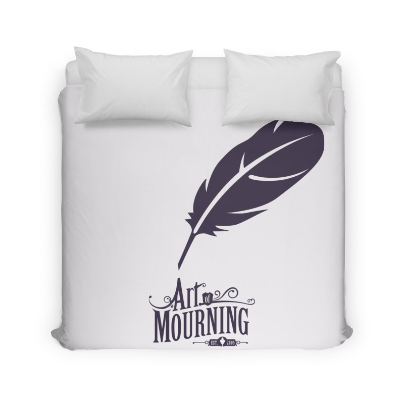 Art of Mourning 'Quill' Home Duvet by The Art of Mourning Shop