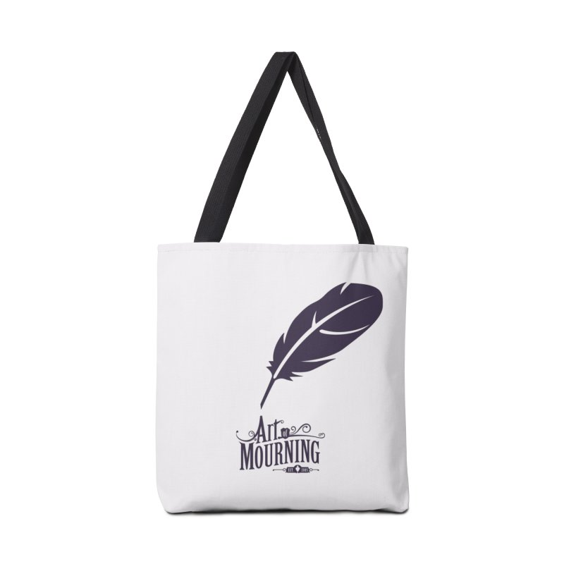 Art of Mourning 'Quill' Accessories Tote Bag Bag by The Art of Mourning Shop