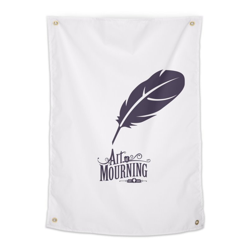 Art of Mourning 'Quill' Home Tapestry by The Art of Mourning Shop
