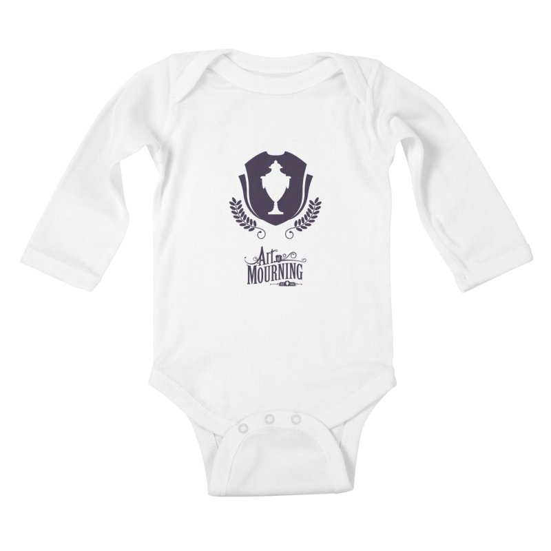 Art of Mourning 'Regal' Kids Baby Longsleeve Bodysuit by The Art of Mourning Shop