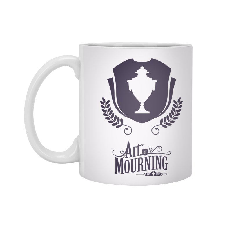 Art of Mourning 'Regal' Accessories Mug by The Art of Mourning Shop