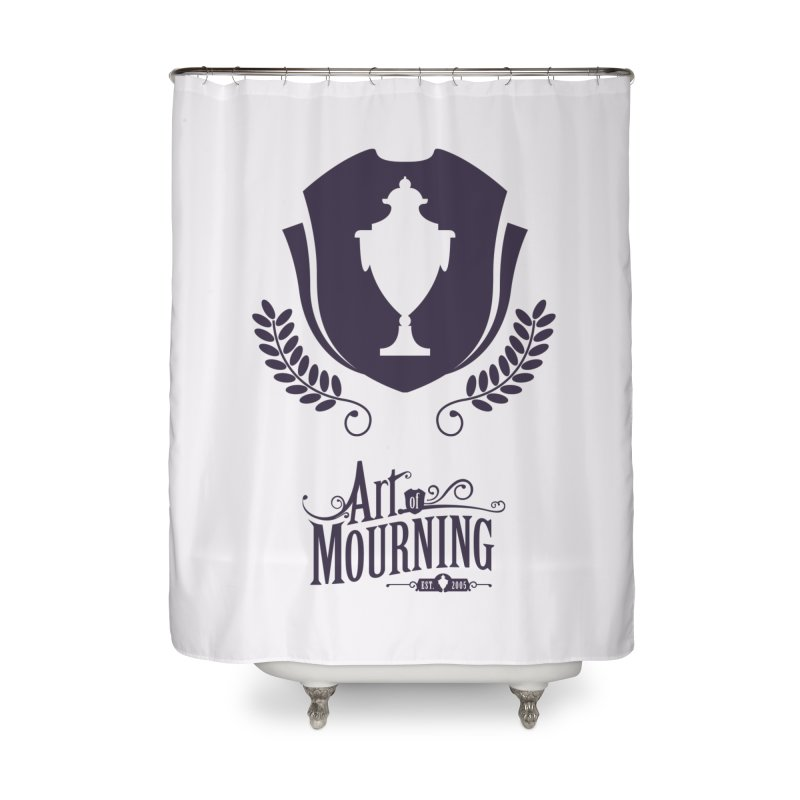 Art of Mourning 'Regal' Home Shower Curtain by The Art of Mourning Shop