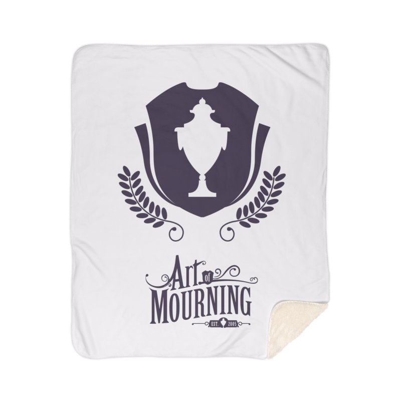 Art of Mourning 'Regal' Home Sherpa Blanket Blanket by The Art of Mourning Shop