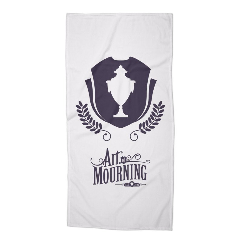 Art of Mourning 'Regal' Accessories Beach Towel by The Art of Mourning Shop