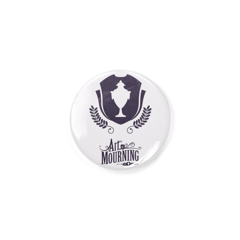Art of Mourning 'Regal' Accessories Button by Art of Mourning Warehouse