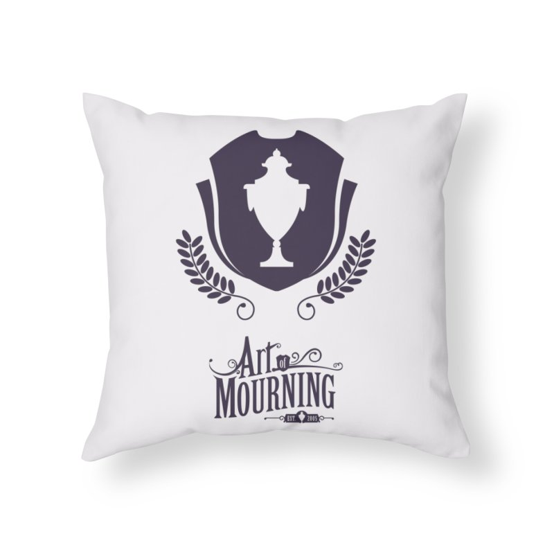 Art of Mourning 'Regal' Home Throw Pillow by The Art of Mourning Shop