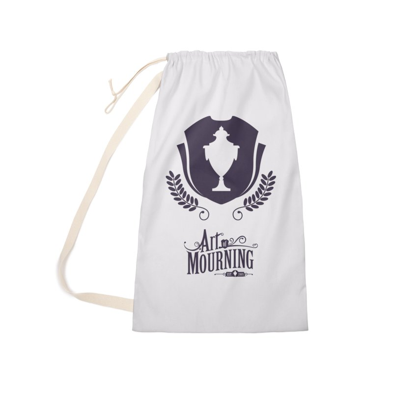 Art of Mourning 'Regal' Accessories Laundry Bag Bag by The Art of Mourning Shop