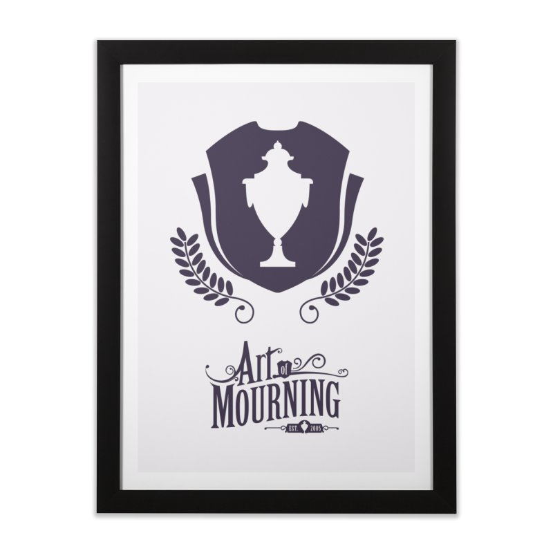 Art of Mourning 'Regal' Home Framed Fine Art Print by The Art of Mourning Shop