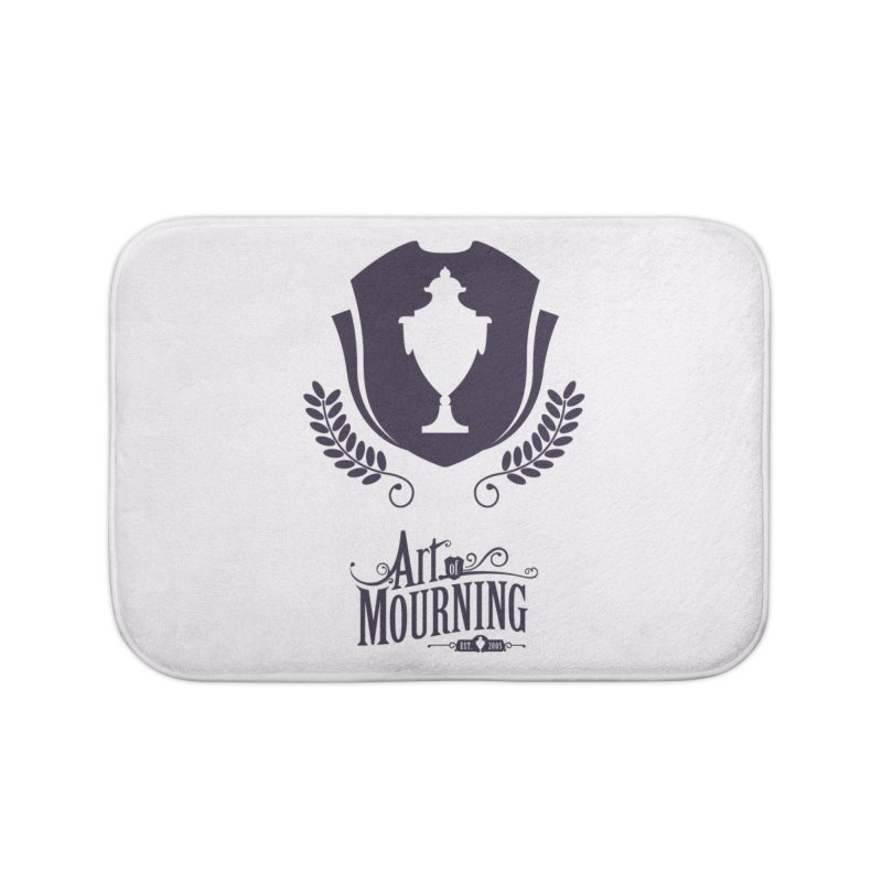Art of Mourning 'Regal' Home Bath Mat by The Art of Mourning Shop