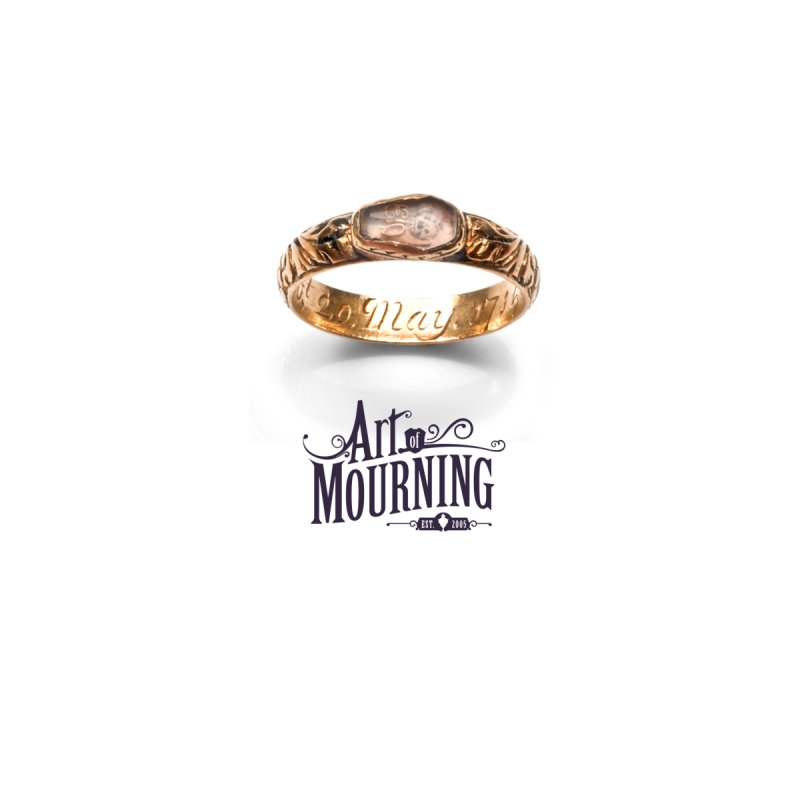 Art of Mourning 'Coffin Ring' Home Stretched Canvas by The Art of Mourning Shop