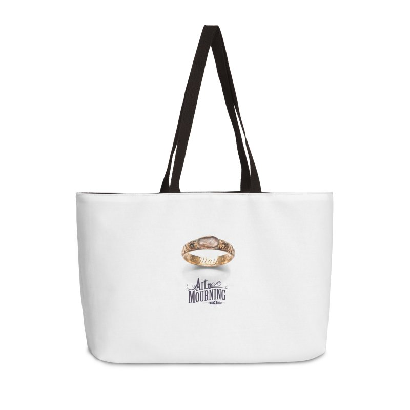Art of Mourning 'Coffin Ring' Accessories Weekender Bag Bag by The Art of Mourning Shop