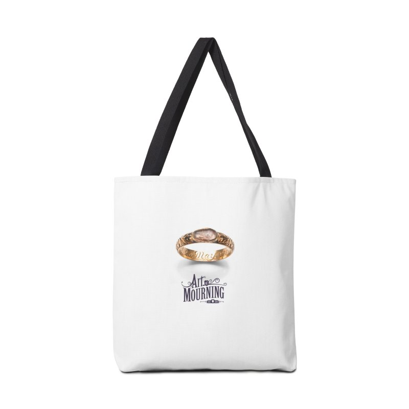Art of Mourning 'Coffin Ring' Accessories Tote Bag Bag by The Art of Mourning Shop