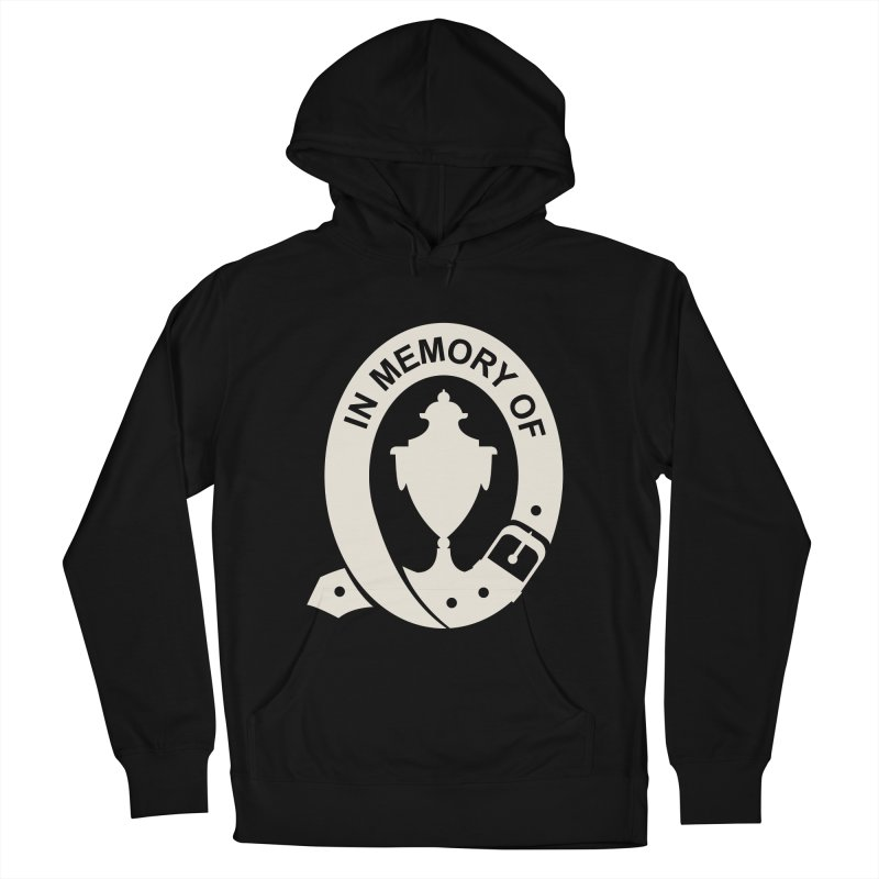 Art of Mourning 'In Memory Of' Reverse Men's French Terry Pullover Hoody by The Art of Mourning Shop