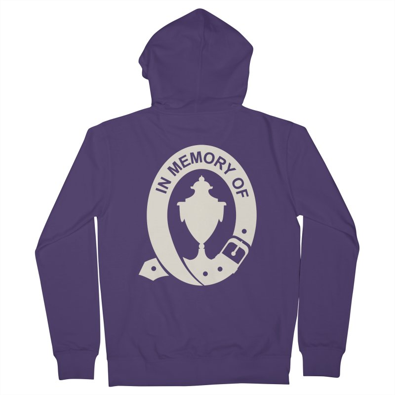 Art of Mourning 'In Memory Of' Reverse Women's Zip-Up Hoody by The Art of Mourning Shop