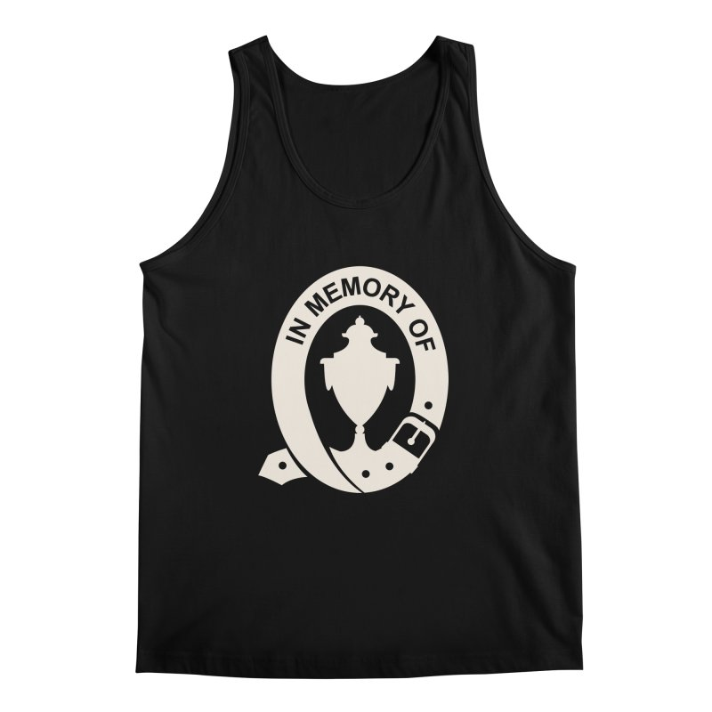 Art of Mourning 'In Memory Of' Reverse Men's Regular Tank by The Art of Mourning Shop