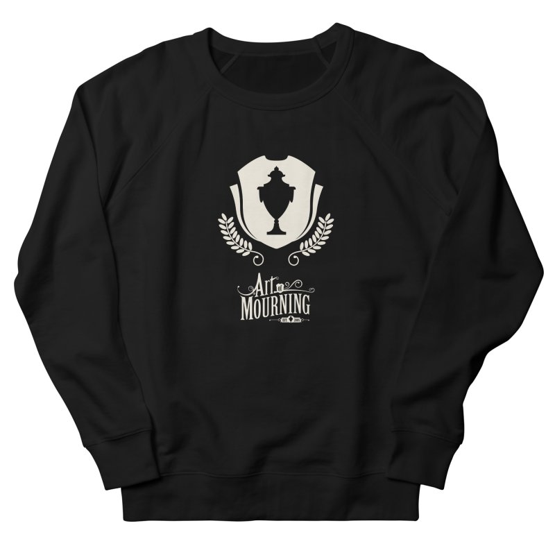 Art of Mourning 'Regal' Reverse Men's French Terry Sweatshirt by The Art of Mourning Shop