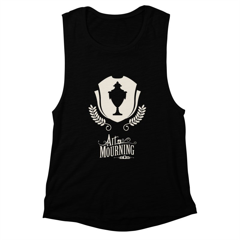 Art of Mourning 'Regal' Reverse Women's Muscle Tank by The Art of Mourning Shop