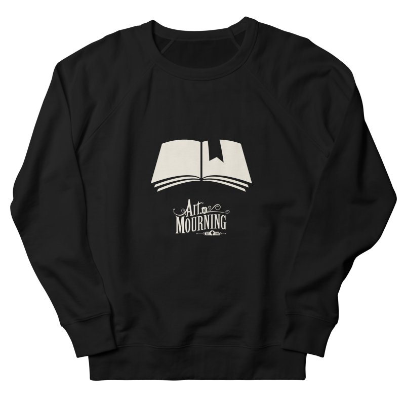 Art of Mourning 'Book' Reverse Women's Sweatshirt by The Art of Mourning Shop