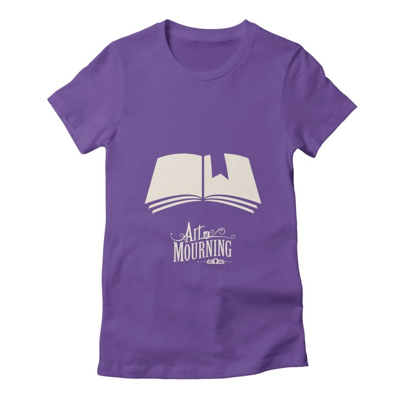 Art of Mourning 'Book' Reverse Women's T-Shirt by The Art of Mourning Shop