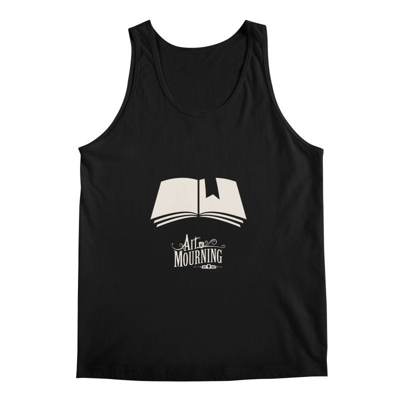 Art of Mourning 'Book' Reverse Men's Regular Tank by The Art of Mourning Shop