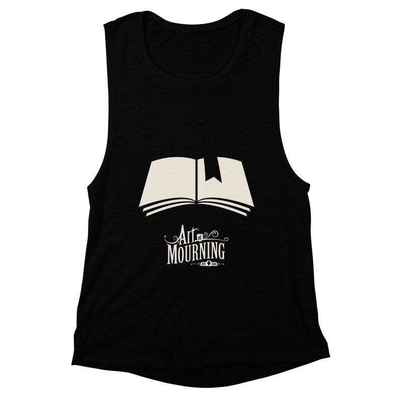 Art of Mourning 'Book' Reverse Women's Muscle Tank by The Art of Mourning Shop