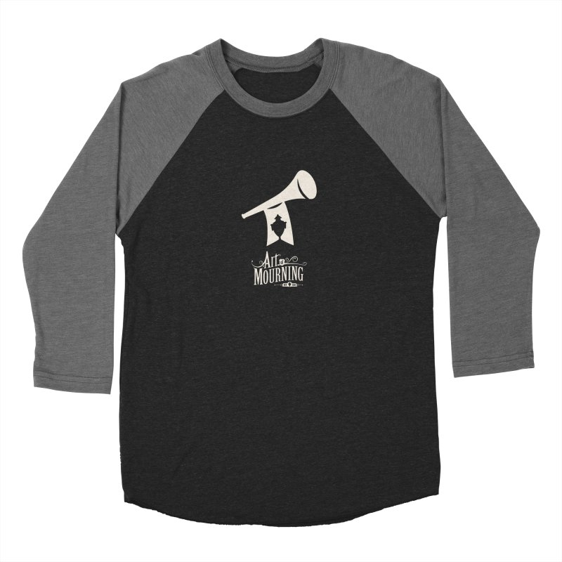 Art of Mourning 'Announcement' Reverse Men's Longsleeve T-Shirt by The Art of Mourning Shop