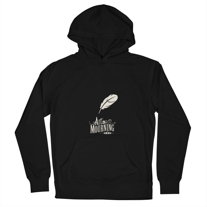 Art of Mourning 'Quill' Reverse Women's Pullover Hoody by The Art of Mourning Shop