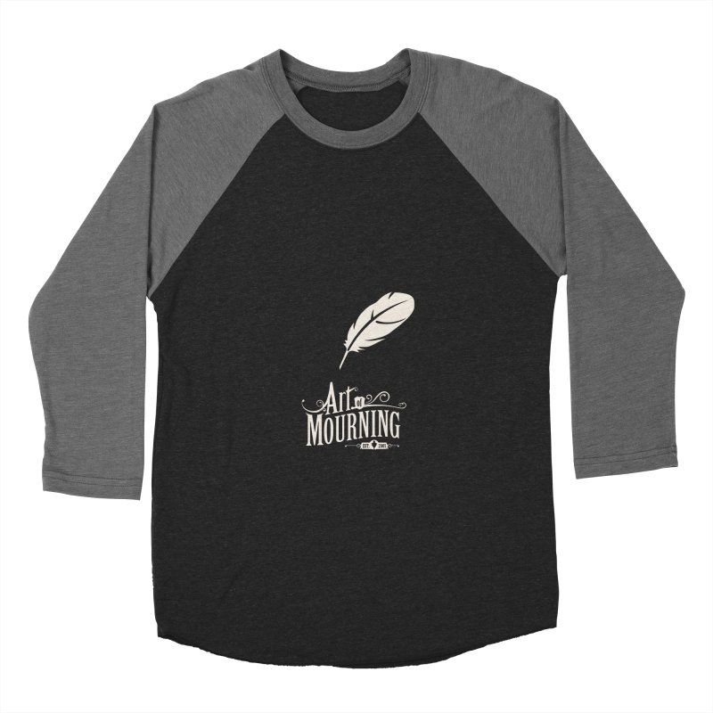 Art of Mourning 'Quill' Reverse Women's Longsleeve T-Shirt by The Art of Mourning Shop