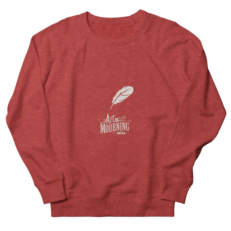 Art of Mourning 'Quill' Reverse Women's French Terry Sweatshirt by The Art of Mourning Shop