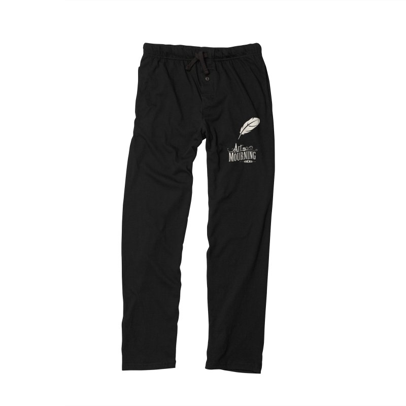 Art of Mourning 'Quill' Reverse Men's Lounge Pants by The Art of Mourning Shop