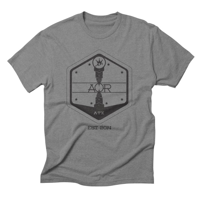 ART OF ROYALTY- ATX Men's Triblend T-shirt by Art Of Royalty