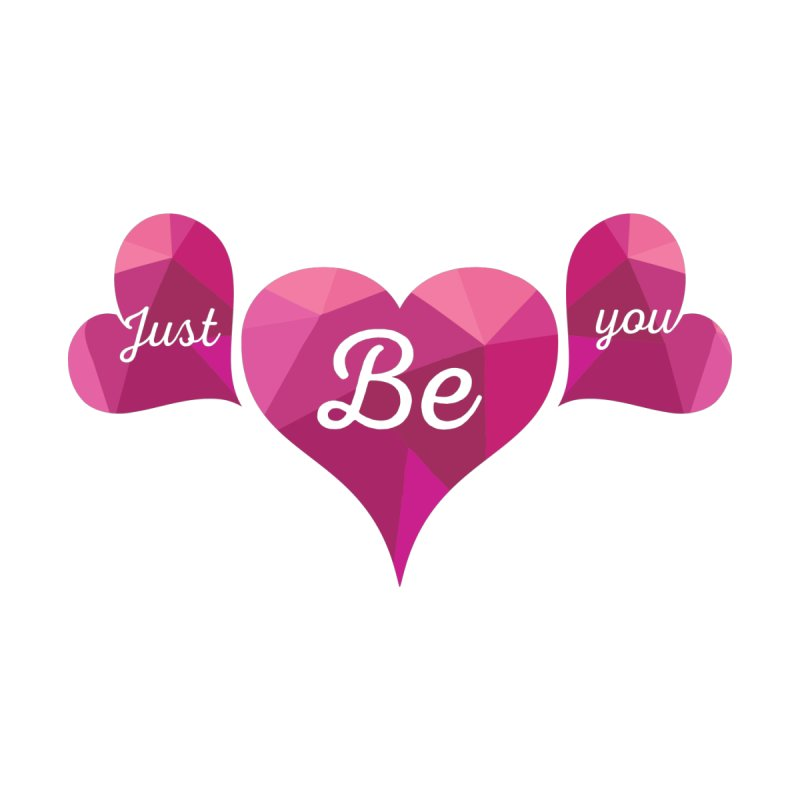 JUST BE YOU - Origami Hearts   by Art Of Royalty